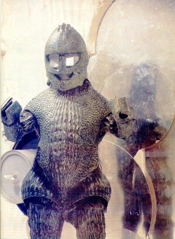 """Primeira aparição dos Ice Wariors foi em 1967, em """"The Ice Warriors"""""""