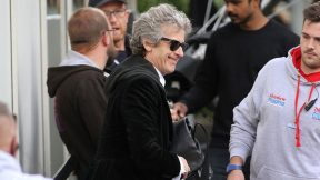 Temporada 10: Capaldi no set