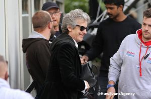 Temporada 10: Capaldi no set