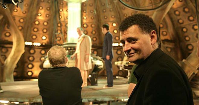 Steven Moffat directing Time Crash