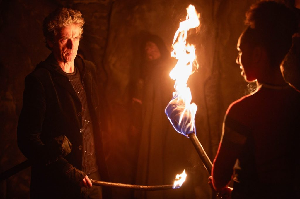 WARNING: Embargoed for publication until 00:00:01 on 13/06/2017 - Programme Name: Doctor Who S10 - TX: 17/06/2017 - Episode: The Eaters of Light (No. 10) - Picture Shows: ***EMBARGOED UNTIL 00:01HRS 13TH JUNE 2017*** The Doctor (PETER CAPALDI), Bill (PEARL MACKIE) - (C) BBC/BBC Worldwide - Photographer: Simon Ridgway