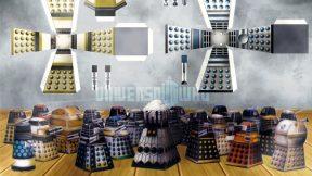 Monte seu próprio império Dalek com esses 48 moldes de papel
