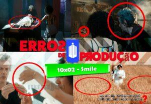 """[Erros de Produção] Confira todas as falhas no episódio """"10×02 – Smile"""""""