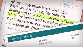 Jodie 2019: Começou a pré-produção da 12ª temporada de Doctor Who