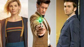 Jodie Whittaker, Matt Smith e David Tennant reunidos em entrevista para a Entertainment Weekly