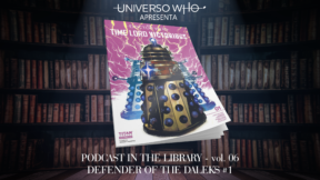Podcast in the Library – #06 – Defender of the Daleks #01